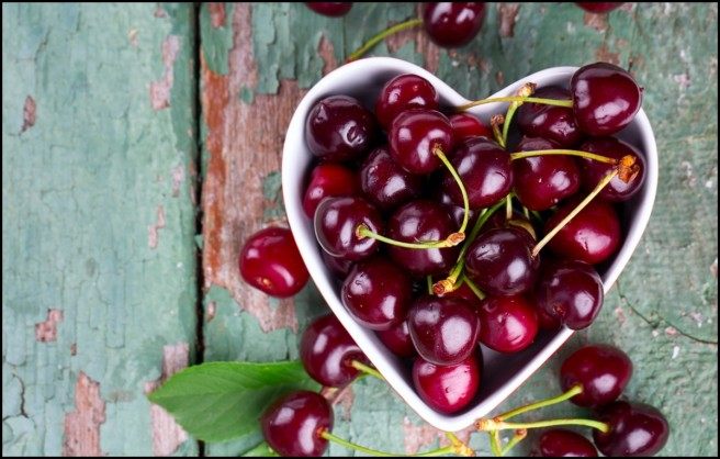 cherries-in-a-heart-shaped-bowl